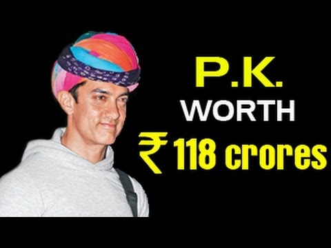 Watch Aamir khan's P.K worth 118 crores!