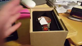 Original Grain Rosewood Shiny Steel Watch Unboxing