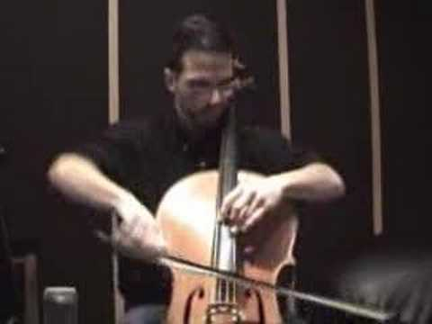 Paganini Caprice 24 on the Cello Video
