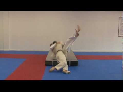 Ura Nage-Rear Throw (The Buck) Image 1