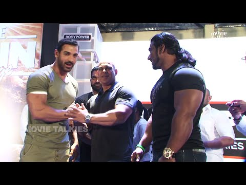 John Abraham Inaugrates Body Expo Gym