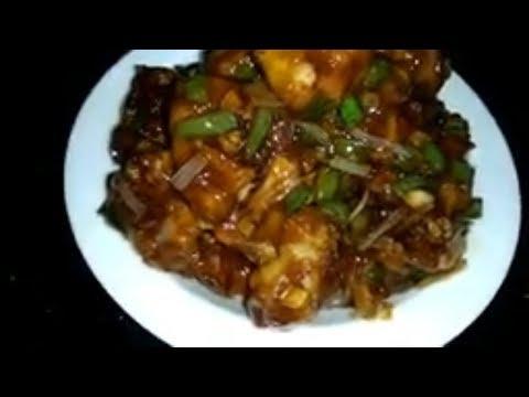 Gobi Manchurian !! Cauliflower Manchurian !! Anamikas Kitchen !!
