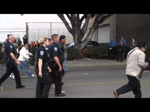 Illegal immigrant protest in San Bernardino