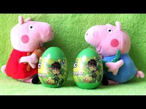 Peppa Pig and Ben Ten