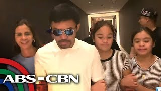 Pacquiao skips SONA, says OK to Thurman rematch