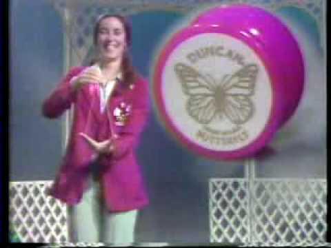 1980's - Duncan Toys Jewel, Butterfly, Imperial Yo-Yo Commercial