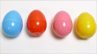 Learn Colours with Surprise Eggs with Toys - For Babies & Kids