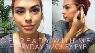 GRWM ♥ Everyday Natural Brown Look ft. NYX Wicked Dreams
