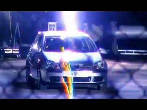 Richard Hammond struck by lightning in car - Top Gear - BBC