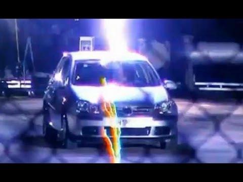 Car Struck by Lightning Struck by Lightning in Car