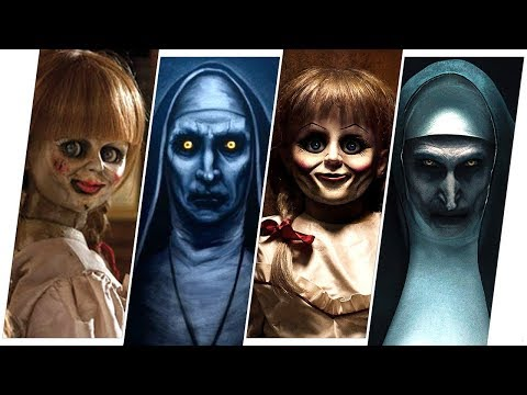 Conjuring Movies Evolution (The Nun/Annabelle)