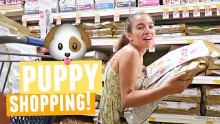 GOING CRAZY IN PET SMART!! | Shopping For My New Puppy!