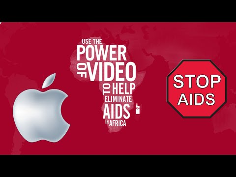 Apple Red: Fight Against Aids - PRODUCT RED UPDATE!