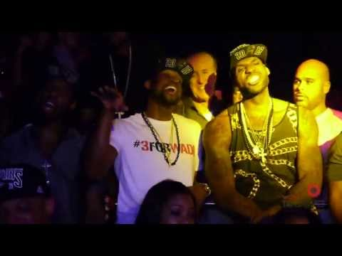 Lebron James and D. Wade rapping in the club after the Miami Heat Big Win