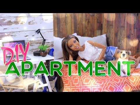 DIY - How to Make: Doll Apartment | Bedroom | Kitchen | Livingroom and MORE!!