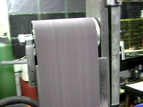 Home Made Wide Belt Sander