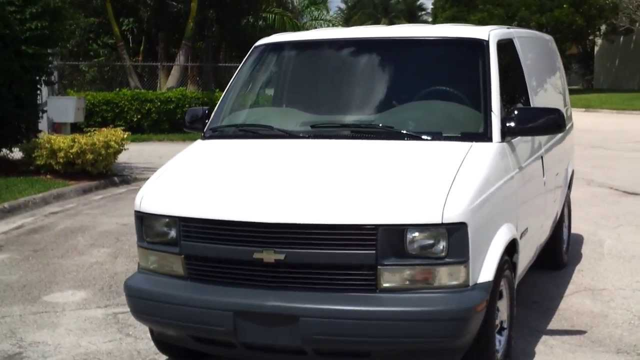 For Sale 2002 Chevy Astro Cargo Van Under Warranty Www