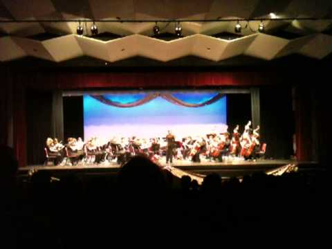 Cranston High School West Orchestra - A Festival of Lights arr. B. Caputo