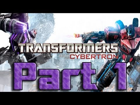 ★ Transformers War for Cybertron - Part 1 Co-Op - Dark Energon