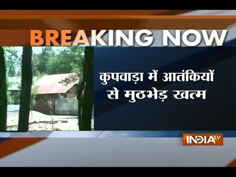 Security forces guns down 5 terrorists in Kupwara district in Jammu and Kashmir