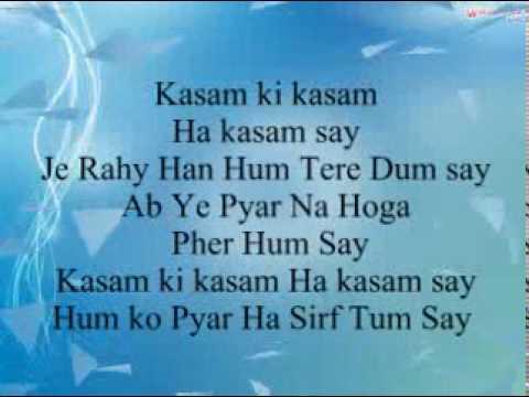 kasam ki kasam song for iii chandni iii   youtube