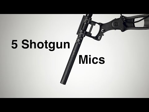 5 Shotgun Microphones: Audio Samples and Off-Axis Test