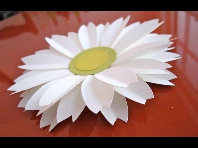 Подарки своими руками как сделать маме цветы легко и просто ромашки из фома Поделки с детьми!