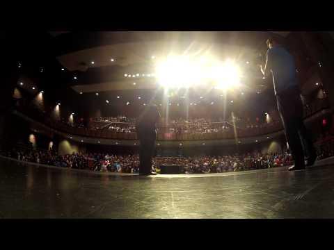TJ Duckett Speaks at Otsego High School