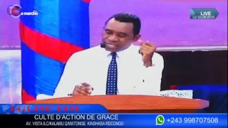 EGLISE FIM/ CULTE D'ACTION DE GRACE , LE 03-06-2018