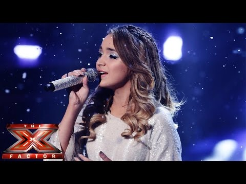 Lauren Platt sings East 17's/Girls Aloud's Stay Another Day | Live-Semi Final | The X Factor UK 2014