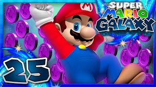 Super Mario Galaxy - Part 25 - All 15 Purple Coin Missions! (1080p 60FPS)