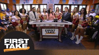 Are referees responsible for Cavaliers' 0-2 start vs. Warriors in NBA Finals? | First Take | ESPN