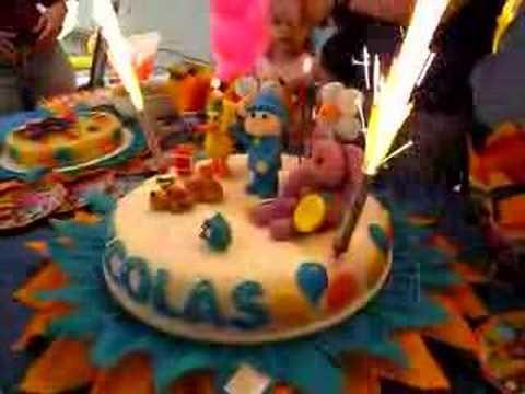Primer cumpleaños de Nicolas