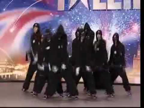 Diversity Dance Group Bgt 2009 Audition video