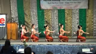 Merced Hmong New Year 2015 - Ntxhais Ceev Txuj (Round 2)