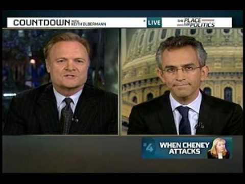 Lawrence O'Donnell scorns Liz Cheney, daughter of the chickenhawk Dick Cheney