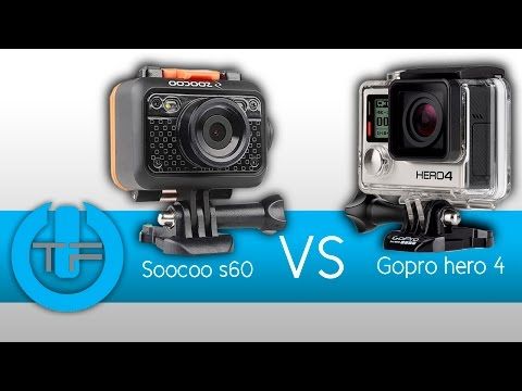 GoPro Hero 4 Black Edition VS Soocoo S60