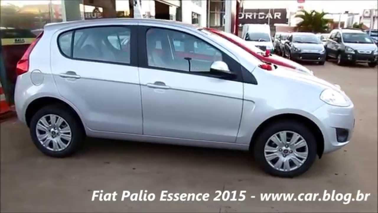 Fiat Palio Essence 2015 - Prata Bari