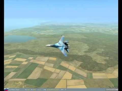 Маневрирование в БВБ (схватка су-27 с F-15)