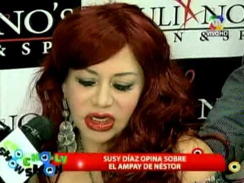 Susy Diaz y su radical cambio de look