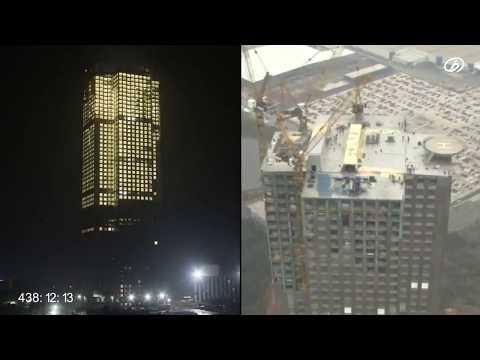 เหลือเชื่อ เดี๋ยวนี้ สร้างตึกสูง 57 ชั้น เสร็จสิ้นภายใน 19 วัน