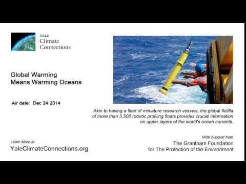 Global Warming Means Warming Oceans