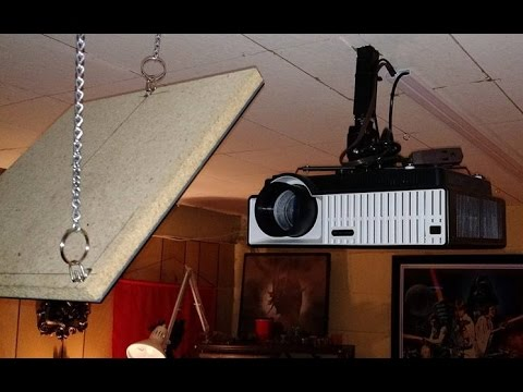 how to set up optishot with projector