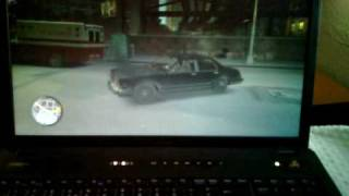 Dell Vostro 3700 Laptop Playing GTA IV NVIDIA GeForce GT 330M Game Play