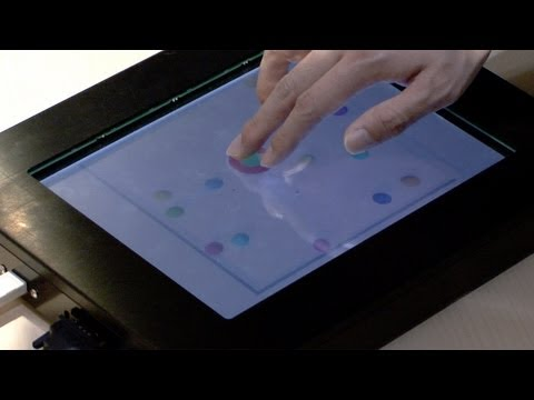 Tactile Display With Directional Force Feedback  #DigInfo