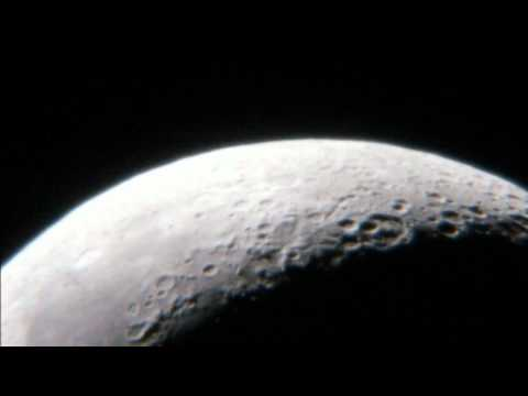 The Moon Video HD Up close celestron 130 SLT