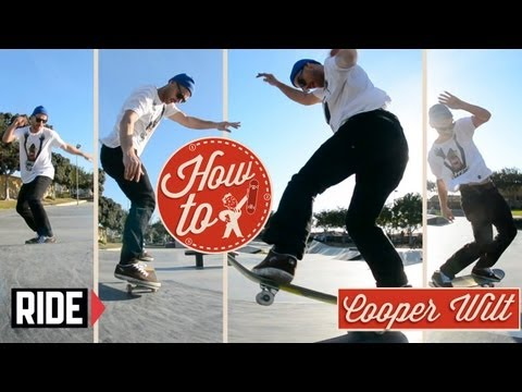 How-To Skateboarding: 180 Fakie Manual 180 Out with Cooper Wilt