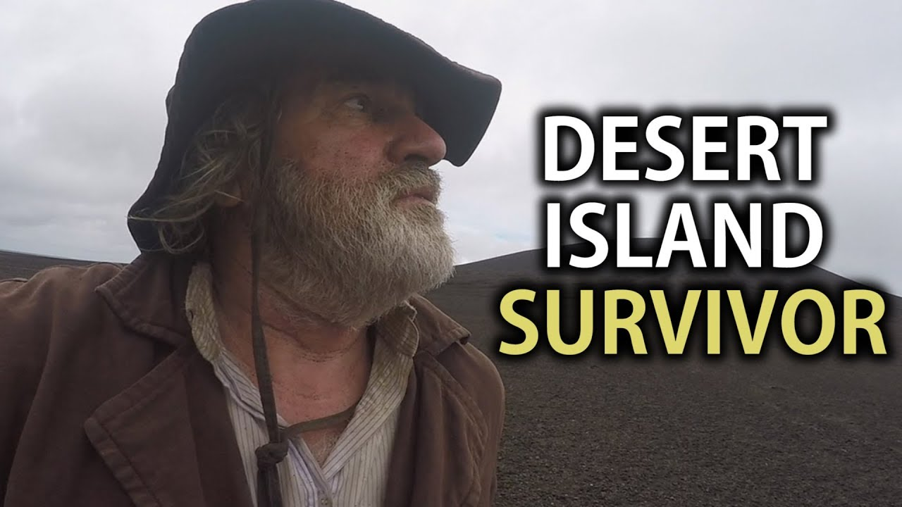 Castaway Returns To The World's Newest Island One Year Later