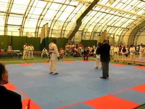 Chito-Ryu Toronto William Linares Green belt Vs Blue belt Image 1