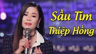 Sầu Tím Thiệp Hồng - Diệp Nguyên Linh ft Lưu Sơn Tùng | Song ca Nhạc Vàng Bolero Hay Tê Tái MV HD